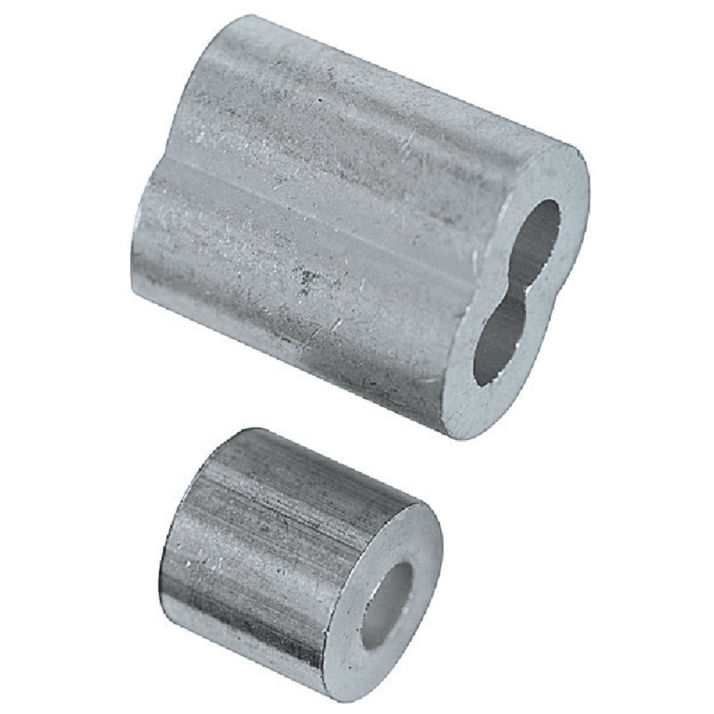 National 1/8 In. Aluminum Garage Door Ferrule & Stop Kit Image 2