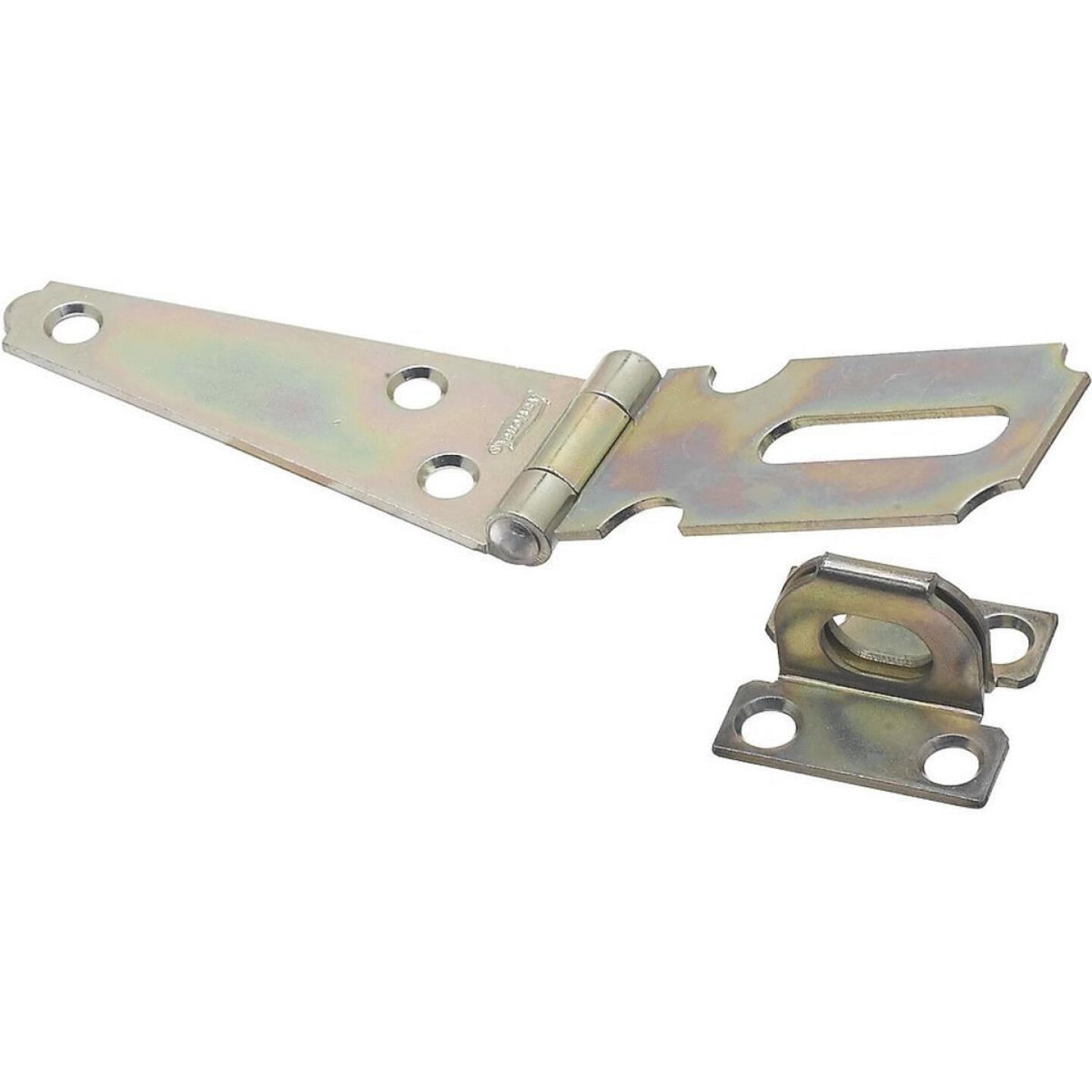 National 3 In. Steel Hinge Hasps Image 1