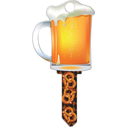 Lucky Line Beer Mug Design Decorative House Key, SC1