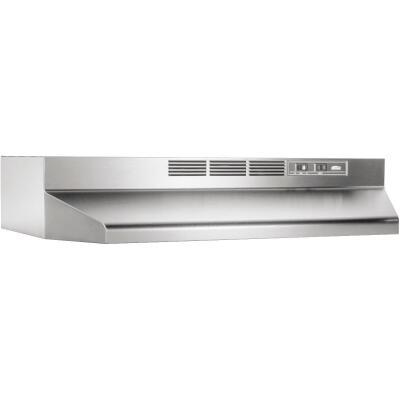 Broan-Nutone 41000 Series 36 In. Non-Ducted Stainless Steel Range Hood