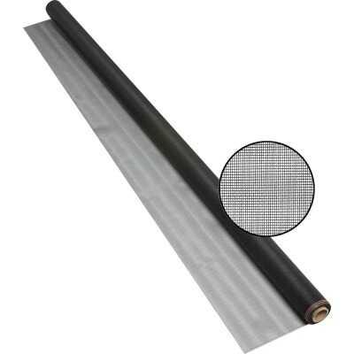 Phifer 72 In. x 25 Ft. Charcoal Fiberglass Pool Screen