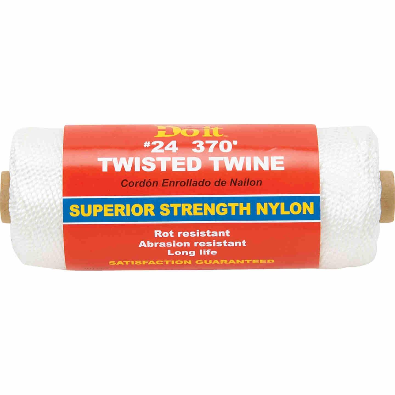 Do it #24 x 370 Ft. White Nylon Twisted Twine Image 1