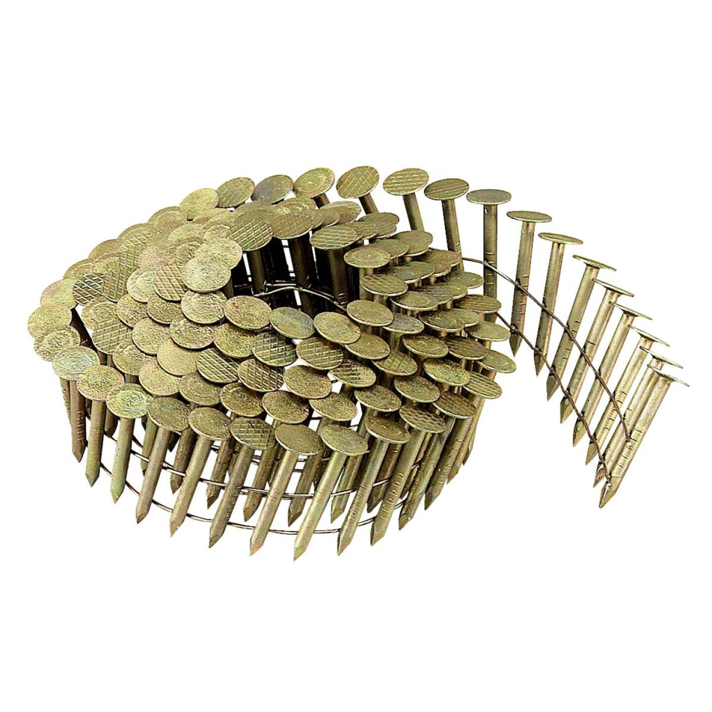 Bostitch 15 Degree Wire Weld Galvanized Coil Roofing Nail, 1-1/4 In. x .120 In. (7200 Ct.) Image 2