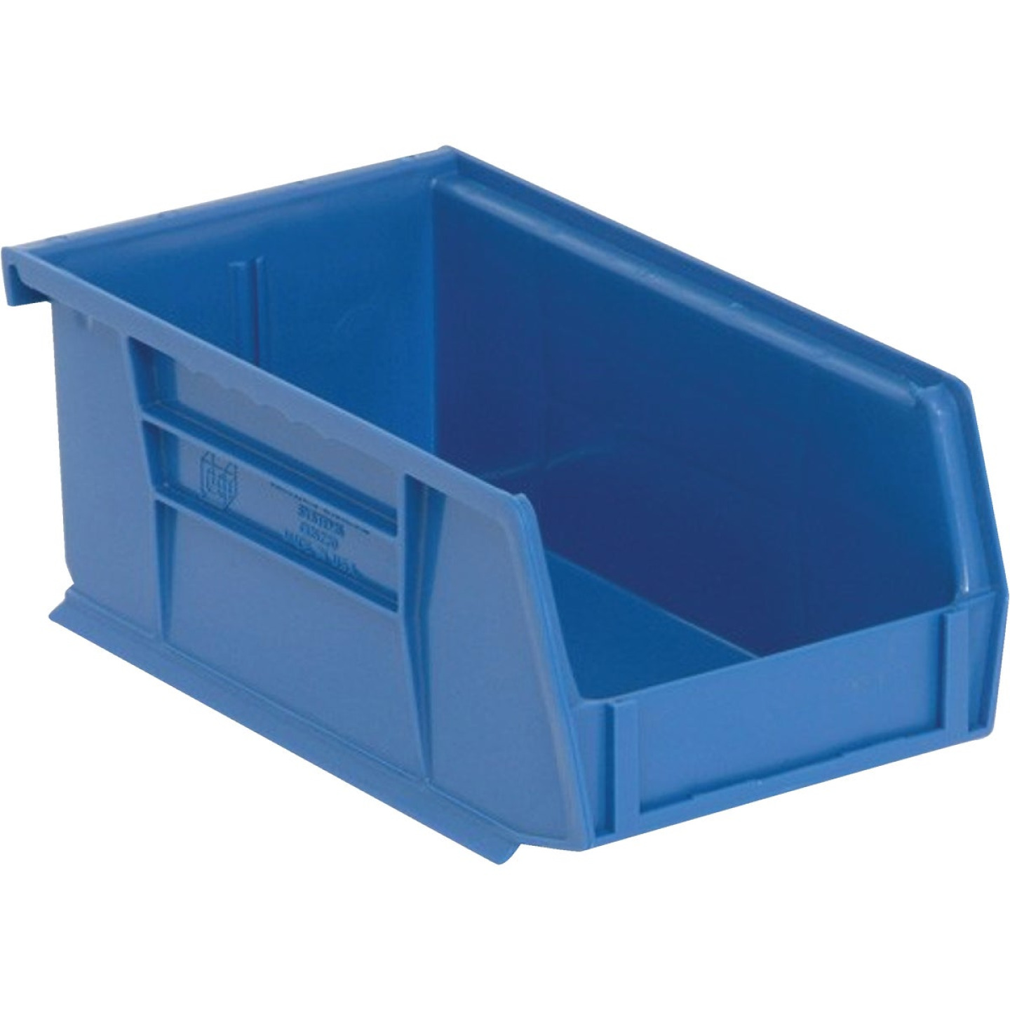 Quantum Storage Small Blue Stackable Parts Bin  Image 1