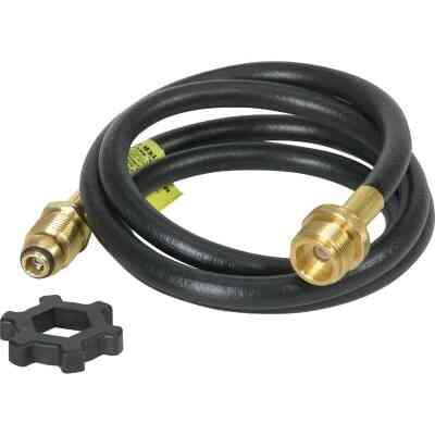 MR. HEATER 5 Ft. x Swivel 1 In.-20 Male Throwaway Cylinder Mr. Heater Buddy LP Hose Assembly
