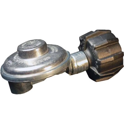 MR. HEATER 3/8 In. FPT x Coupling Nut Low Pressure 90 Deg Angle LP Low-Pressure Regulator