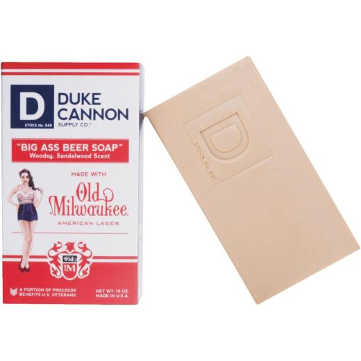 Duke Cannon 10 Oz. Sandalwood Big Ass Beer Soap