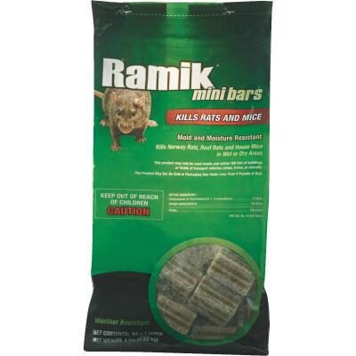 Ramik Bar Rat And Mouse Poison, 4 Lb.