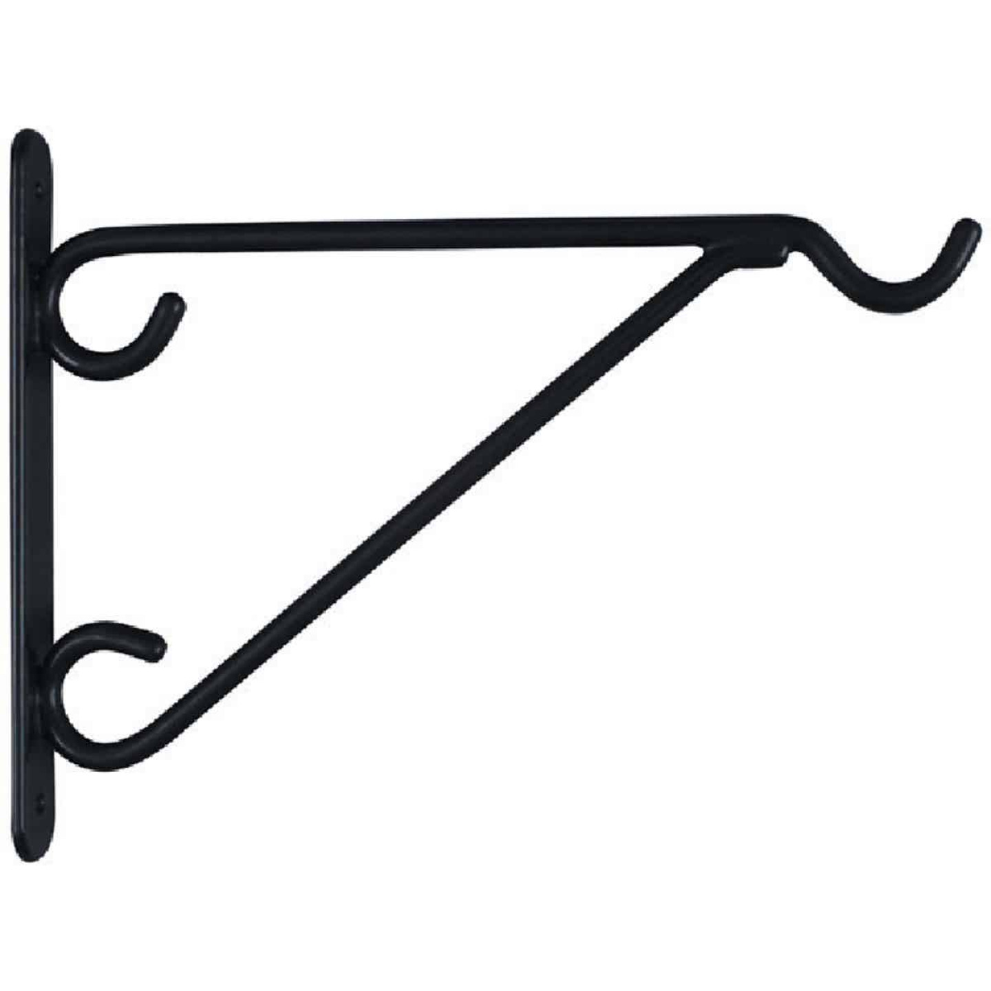 National 8 In. Black Vinyl-Coated Steel Plant Hanger Bracket Image 3