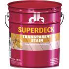 Duckback SUPERDECK VOC Transparent Exterior Stain, Red Cedar, 5 Gal. Image 1