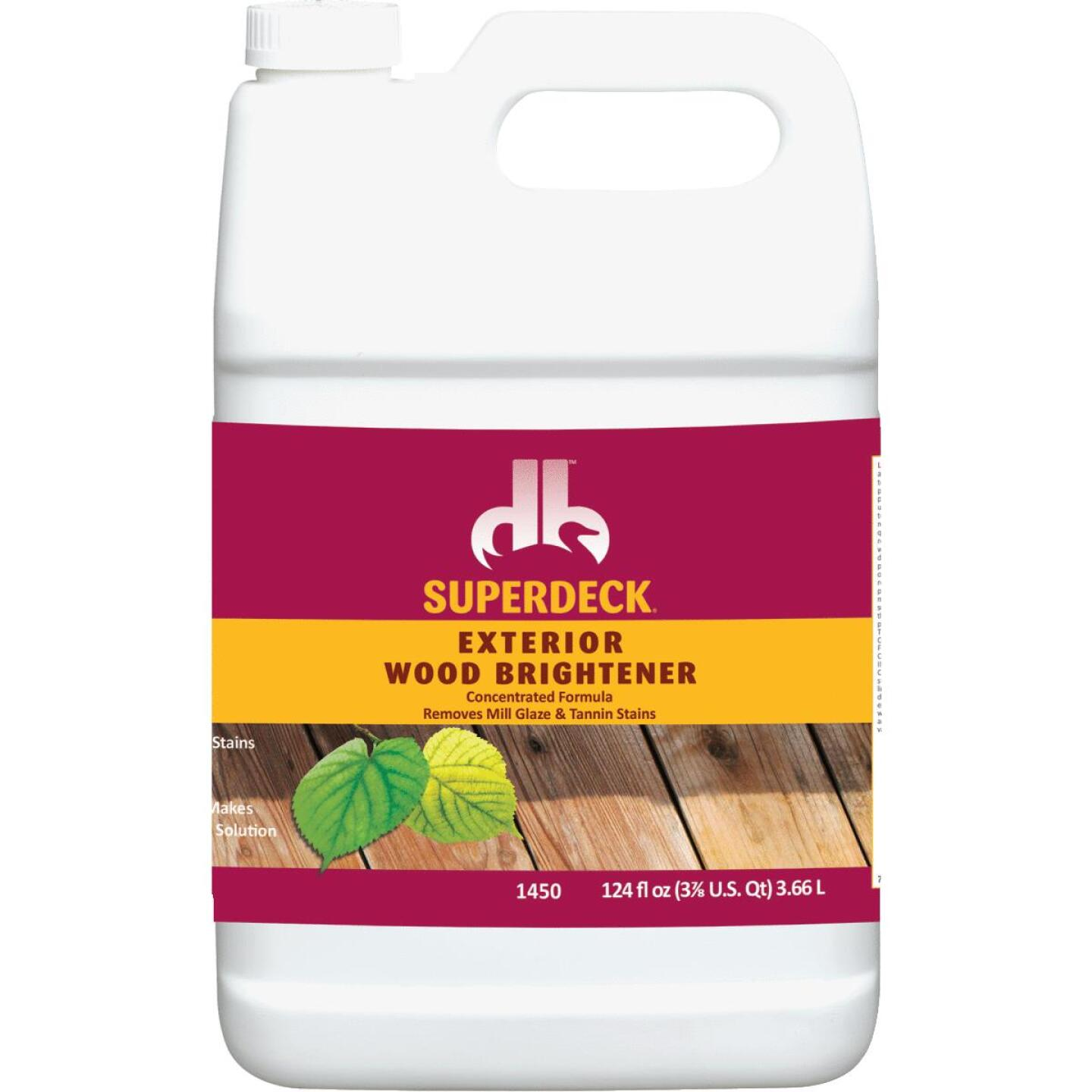 Duckback SUPERDECK 1 Gal. Wood Brightener Image 1